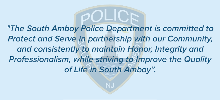 The Official Website of The City of South Amboy, NJ - Police